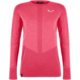 SALEWA Zebru Responsive T-Shirt À Manches Longues Femme, virtual pink